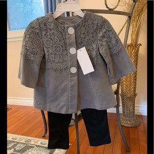 2 piece jacket and pants size 24M